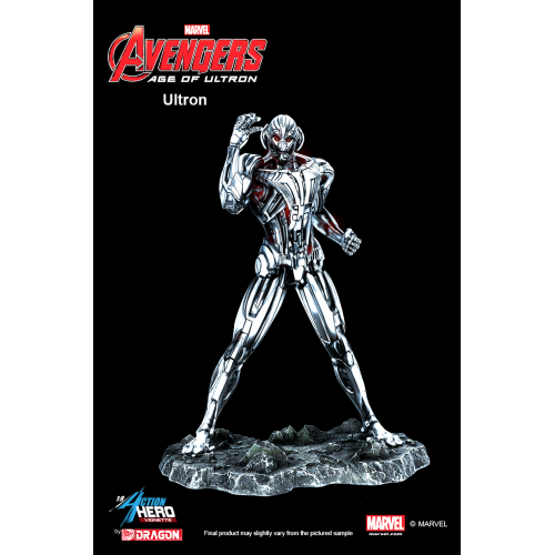 Avengers 2: Age of Ultron - Ultron Multi Pose Model Kit Vignette