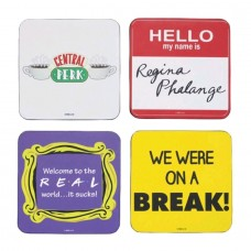 Friends - Quotes Coasters Set of 4