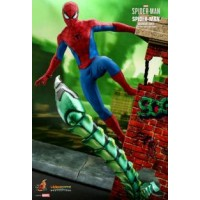 Spider-Man (Video Game 2018) - Spider-Man Classic Suit 1:6 Scale 12 Inch Action Figure