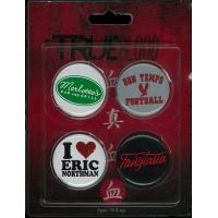 True Blood - 4 Pack of Pins / Buttons Set #2