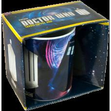 Doctor Who - TARDIS and Insignia Logo Mug