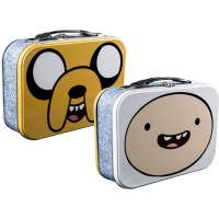 Adventure Time - Jake and Finn Face Lunchbox