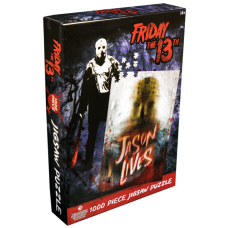 Friday the 13th - Jason Voorhees Jigsaw Puzzle (1000 Pieces)