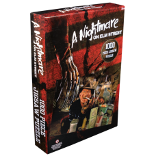A Nightmare on Elm Street - Freddy Krueger at Diner Jigsaw Puzzle (1000 Pieces)