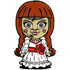 Annabelle Comes Home - Annabelle Chibi Enamel Pin