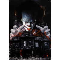 It (2017) - Pennywise Tin Sign