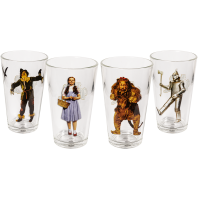 The Wizard of Oz - Character Tumbler Glasses (Set of 4)