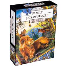 Animalia - Book Cover Family Jigsaw Puzzle (300 Piece)