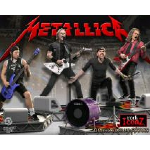 Metallica - Rock Iconz Statue Set of 4