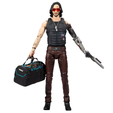 Cyberpunk 2077 - Johnny Silverhand with Duffle Bag 7 Inch Action Figure