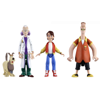 Back to the Future: The Animated Series - Toony Classics 6 Inch Scale Action Figure Assortment (Set of 3)