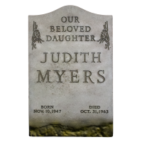 Halloween (1978) - Judith Myers Tombstone 1/1 Scale Life-Size Prop Replica