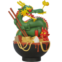 Unruly Industries - Ramen Demon 9 Inch Vinyl Figure by Levi Prewitt