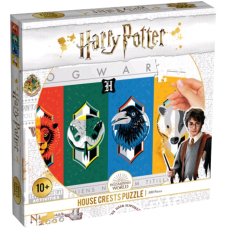 Harry Potter - House Crests Jigsaw Puzzle (500 Pieces)