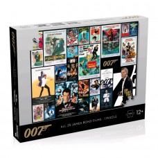 James Bond - All Movies Poster 1000 piece Jigsaw Puzzle