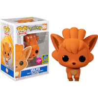 Pokemon - Vulpix Flocked Pop! Vinyl Figure (2020 Summer Convention Exclusive)