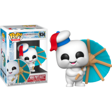 Ghostbusters: Afterlife - Mini Puft with Cocktail Umbrella Pop! Vinyl Figure