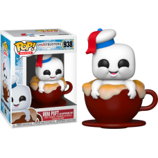 Ghostbusters: Afterlife - Mini Puft in Cappuccino Cup Pop! Vinyl Figure