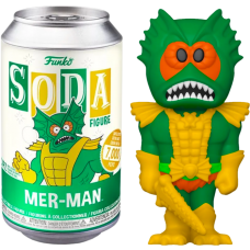 Masters Of The Universe - Mer-Man Vinyl SODA Figure in Collector Can