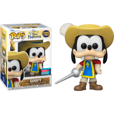 Mickey, Donald, Goofy: The Three Musketeers - Goofy Pop! Vinyl Figure (2021 Fall Convention Exclusive)