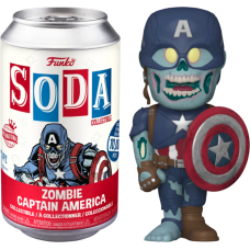 Marvel: What If…? - Captain America SODA Figure in Collector Can