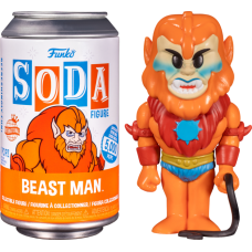 Masters of the Universe - Beast Man Vinyl SODA Figure in Collector Can (International Edition)