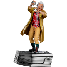 Back to the Future Part II - Doc Brown 1/10th Scale Statue