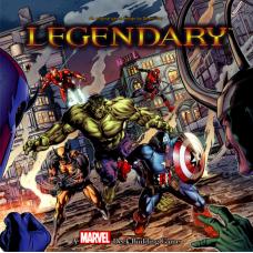 Legendary - Marvel Deck Building Board Game