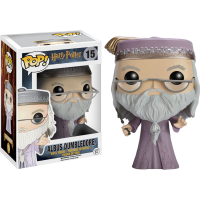 Harry Potter - Albus Dumbledore with Wand Pop! Vinyl Figure
