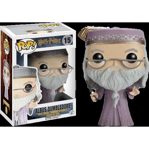 Harry Potter - Albus Dumbledore with Wand Pop! Vinyl Figure