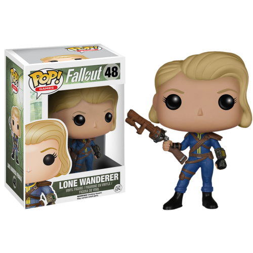 Fallout - Lone Wanderer Female Pop! Vinyl Figure