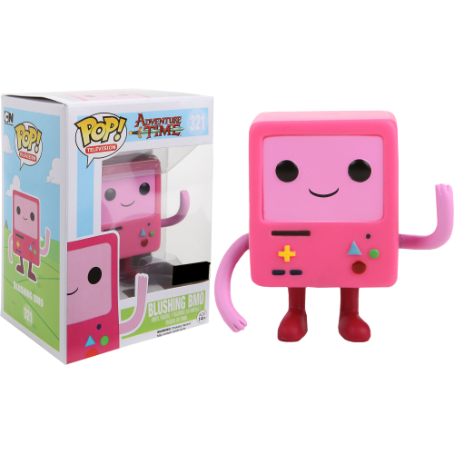 Adventure Time - Pink Blushing BMO Pop! Vinyl Figure