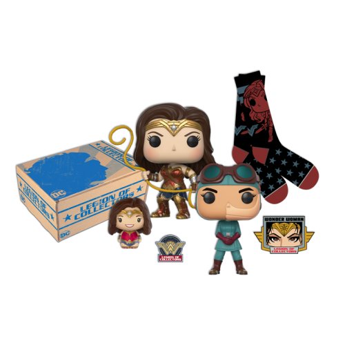 DC Legion of Collectors - Wonder Woman Box *Out of the Box*