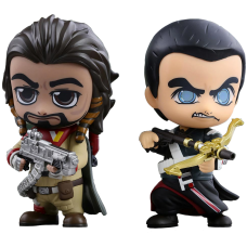 Star Wars: Rogue One - Chirrut and Baze Cosbaby Vinyl Figure Set