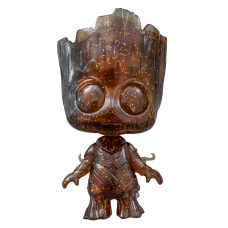Guardians of the Galaxy: Vol. 2 - Groot Transparent Brown Cosbaby 3.75 inch Hot Toys Bobble-Head Figure