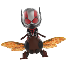 Ant-Man and the Wasp - Ant-Man on Flying Ant Cosbaby Hot Toys Bobble-Head Figure