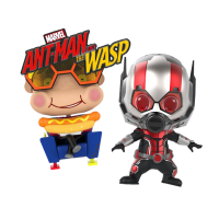 Ant-man and the Wasp - Ant-Man and Movbi Cosbaby Hot Toys Bobble-Head Figure 2-Pack