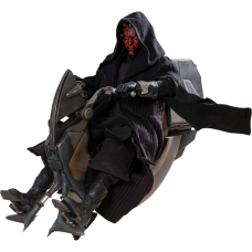 Star Wars Episode I: The Phantom Menace - Darth Maul with Sith Speeder 1/6th Scale Hot Toys Action Figure