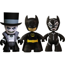 Batman Returns - Batman Penguin and Catwoman 2 Inch Mez-Its Figures (Set of 3)