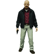 Breaking Bad - Heisenberg 6 Inch Red Shirt Action Figure