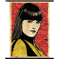 Watchmen - Silk Spectre 'Pop Art' Wall Scroll