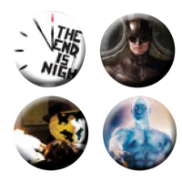 Watchmen - The End Is Nigh Pin Set (Set of 4)