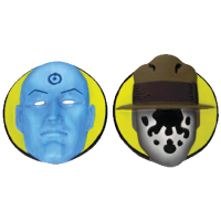 Watchmen - Magnets Sculpted Resin (Set of 2)