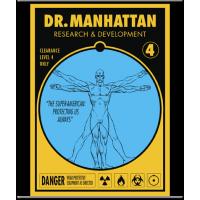 Watchmen - Dr Manhattan Wall Scroll