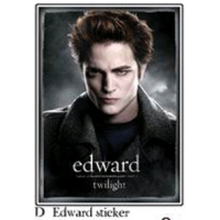 Twilight - Sticker D Edward Cullen