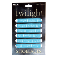 Twilight - Fat Shoelaces (D) Logo Crest