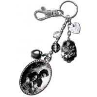 Twilight - Key Ring / Bag Clip Charm Edward and Bella