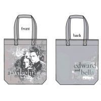 Twilight - Tote Bag Edward and Bella (Vector Grey)