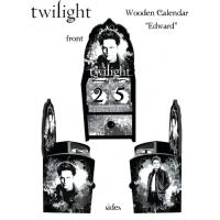 Twilight - Calendar Wooden Edward Cullen