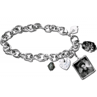 Twilight - Jewellery Charm Bracelet Edward Cullen